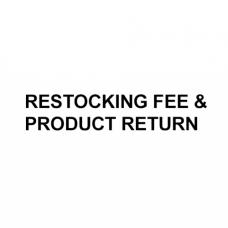Restocking Fee (Product Returns)